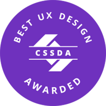 Klug, Creative and Digital Marketing Agency, won CSS Design Awards for Best UX Design