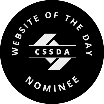 Klug, Creative and Digital Marketing Agency, was nominee for Website of the day CSS Design Awards